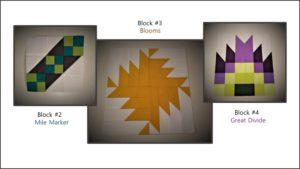 Adventure Quilt Block #2 - #4
