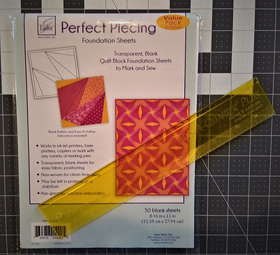 Paper for Piecing & Ruler