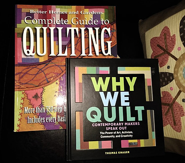 Book Covers: Why We Quilt and Complete Guide to Quilting