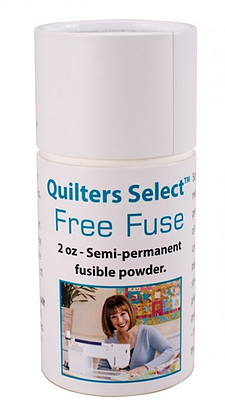 Quilters Select Free Fuse Semi-permanent fusible powder
