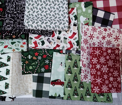 Christmas Traditions fabric line; Quilting fabric by Riley Blake