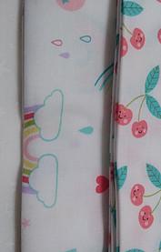Hello Sunshine white background fabric fat quarters from Moda