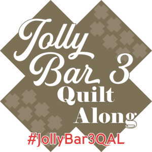 Jolly Bar Vol. 3 quilt along scheduled to begin April 3, 2021 - the Fat Quarter Shop