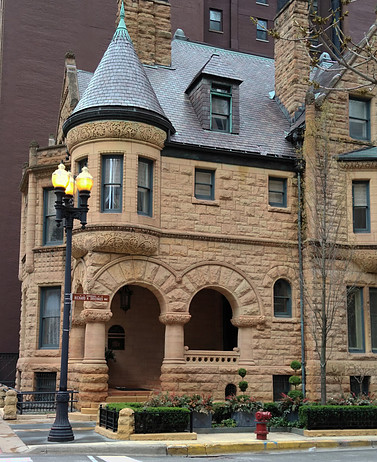 Ransom R. Cable House - Medieval Style Mansion - 1886; Chicago