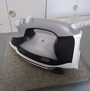 Olisio iron on gray wool pressing mat